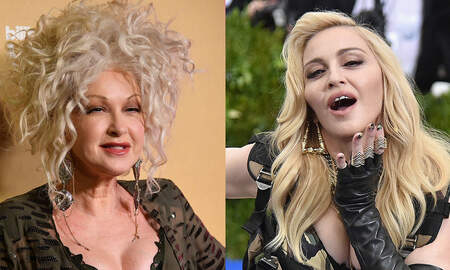 Rock News - Cyndi Lauper Says She and Madonna Were Pitted Against Each Other