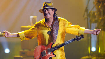 Ken Dashow - Carlos Santana to Celebrate 'Supernatural' Album, Woodstock This Summer