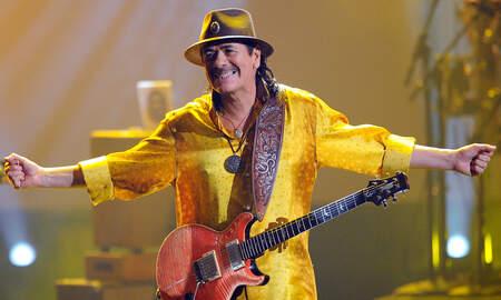 Rock News - Carlos Santana to Celebrate 'Supernatural' Album, Woodstock This Summer