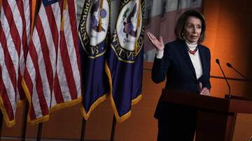 None - Pelosi - I'm not for a wall. I'm not for a wall. I'm not for a wall.