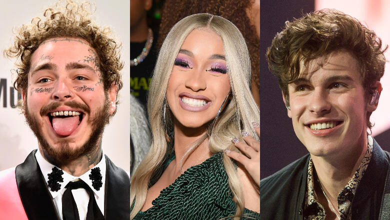 Cardi B, Post Malone, Shawn Mendes, & More Will Perform At Grammy Awards