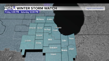 Chris Michaels - Brace for Winter Storm Watch in Chicagoland