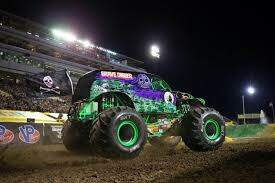 Monsters - ANGEL CLIMBS INTO GRAVE DIGGER