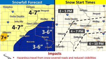 WOC Local News - Quad Cities Snow Emergency Info QC SNOW MAP