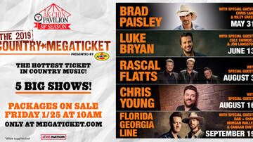 None - The 2019 Country Megaticket Presented by Pennzoil