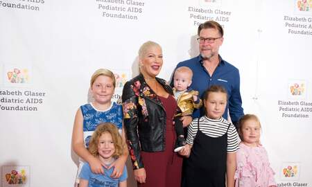 Entertainment News - Tori Spelling's Kids Ruthlessly Body-Shamed, Dad Dean McDermott Claps Back