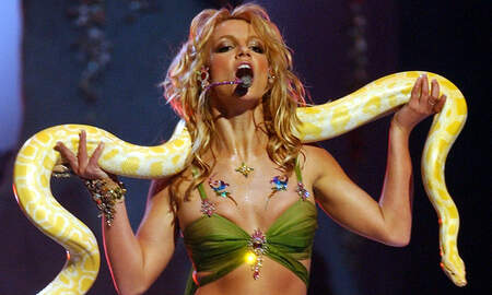 Trending - Britney Spears' 'Slave 4 U' Funko Doll (Snake Included) Is Heading Your Way