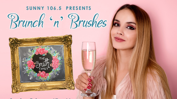 Buzzing Vegas - Brunch 'N' Brushes at Pinot's Palette