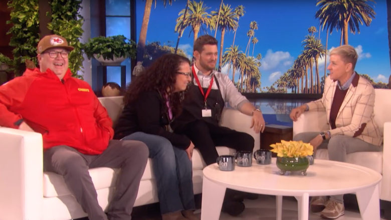 Michael Buble Prank Sees Run-In With 'Modern Family' Star Eric Stonestreet