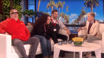 Trending - Michael Buble Prank Sees Run-In With 'Modern Family' Star Eric Stonestreet
