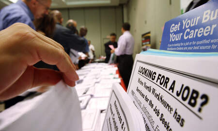 Local News - L.A. County Jobless Rate Inches Upward in December