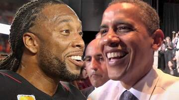 The Mighty Peanut -  Larry Fitzgerald made a Hole-in-one while playing Golf with Barack Obama