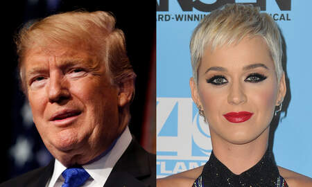 Trending - Donald Trump 'Likes' Old Tweet About Katy Perry