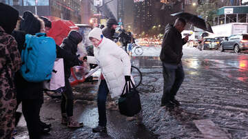 Storm Watch NYC - Flash Flood Warnings, Winter Storm Warnings And Advisories Go Into Effect
