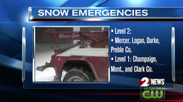 Mix Morning Show! - Snow Emergencies, advisories issued in several counties