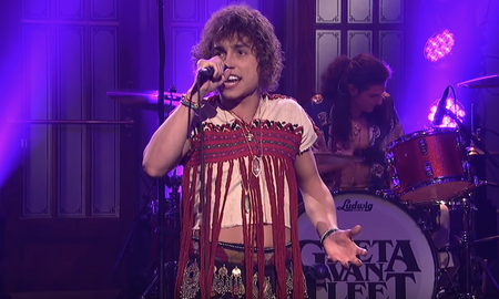 Trending - Greta Van Fleet Make 'Saturday Night Live' Debut