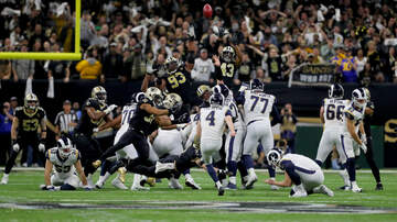 Sports Desk - Rams Beat Saints In NFC Championship Game