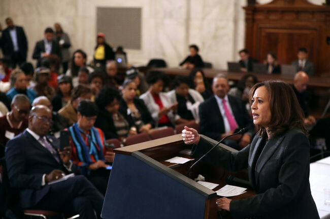 California Sen. Kamala Harris announces 2020 presidential bid