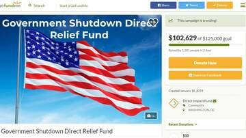 Politics - GoFundMe Sets Up Donation Page For Federal Workers Affected By the Shutdown
