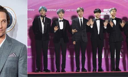 Entertainment News - Matthew McConaughey Loves BTS After Seeing Them In concert