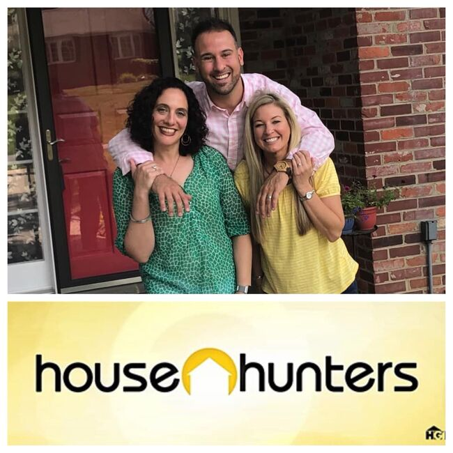 Delaware couple Matt & Jess Farina with their realtor Meredith Rosenthal to appear on HGTV's House Hunters