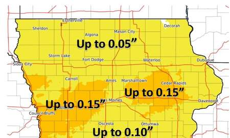 Local News - Snow, Sleet, Freezing Rain across Iowa SNOW & ICE MAPS