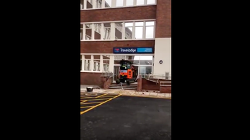 JB - Unpaid Contractor Destroys brand new Travelodge