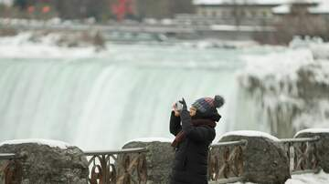 Marcus and Sandy - It's So Cold Niagara Falls Has Frozen