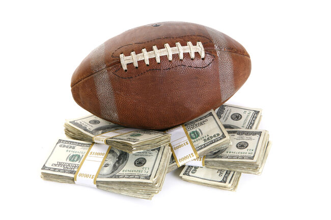 Football with Money Getty RF
