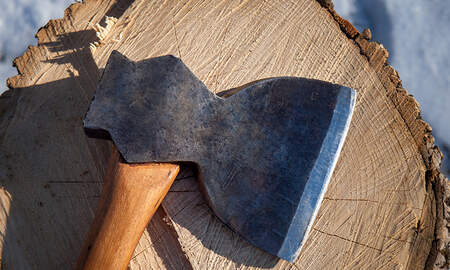 Noticias Nacionales - Man Chops Up Belongings With An Ax Because Wife Damaged His Action Figures