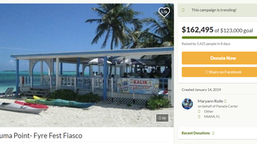 National News - Fyre Fest Victim Receives More Than $160,000 in Donations After Scam