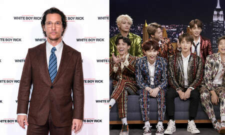 Trending - Matthew McConaughey 'Broke A Sweat' At A BTS Concert With His Family