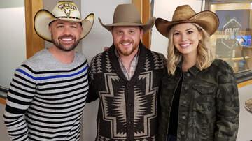 CMT Cody Alan - Cody Johnson + Cody Alan Show Off Cowboy Skills In CMT Radio Game