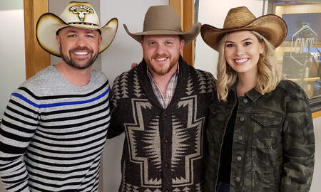 CMT Cody Alan - Cody Johnson + Cody Alan Show Off Cowboy Skills In CMT Radio Game