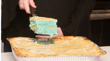 BC - Lasagna Is The Gross New Way To Reveal Your Baby's Gender
