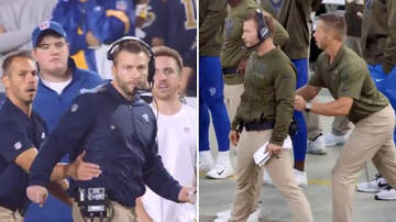 JoMaestro - VIDEO: Rams Head Coach Sean Mcvay Has A Personal GET BACK Coach