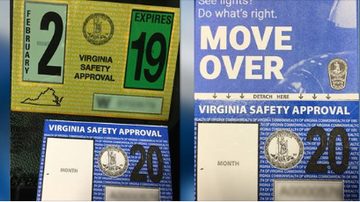 Lori - Virginia State Inspection Stickers Have A New Look This Year