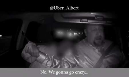 National News - Dashcam Footage Shows Uber Passenger Grab For Driver's Steering Wheel