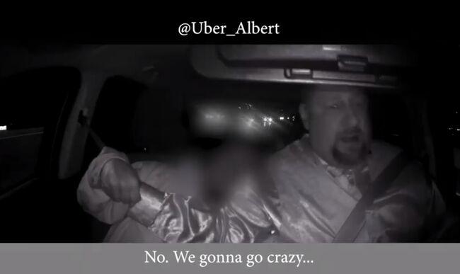 Uber passenger yanks at driver's wheel, nearly wrecking the car