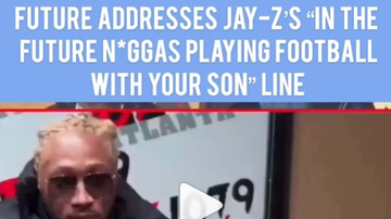 Osei The Dark Secret - Future Addresses Jay-Z' Line From 444, About Son