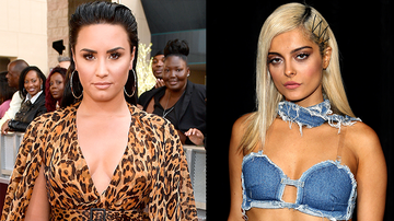 Entertainment News - Demi Lovato Praises Bebe Rexha For Calling Out Designers Over Grammys Dress