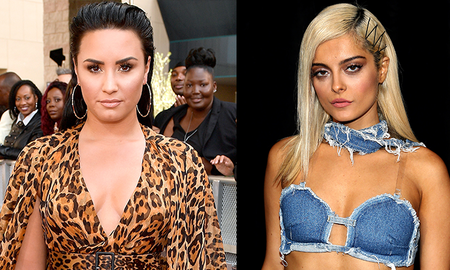 Trending - Demi Lovato Praises Bebe Rexha For Calling Out Designers Over Grammys Dress