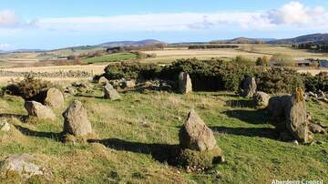 Coast to Coast AM with George Noory - 'Ancient' Stone Circle is a Modern Replica