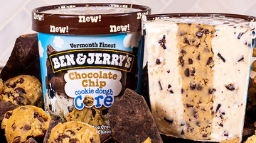 National News - Ben & Jerry's Debuts 3 New Cookie Dough Core Flavors