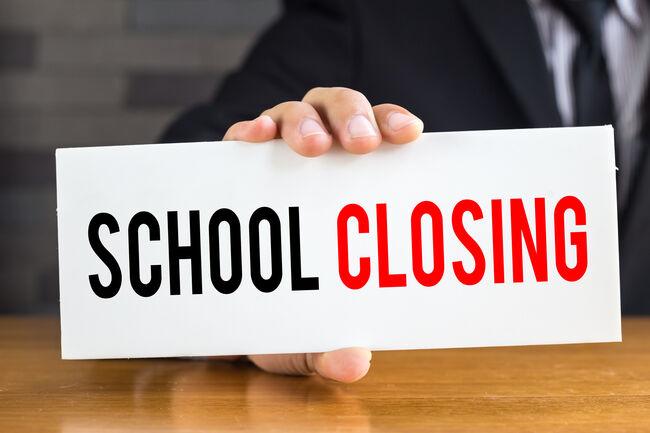 School Closing Closed Getty RF