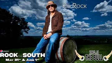 image for Kid Rock Joins Rock the South Lineup