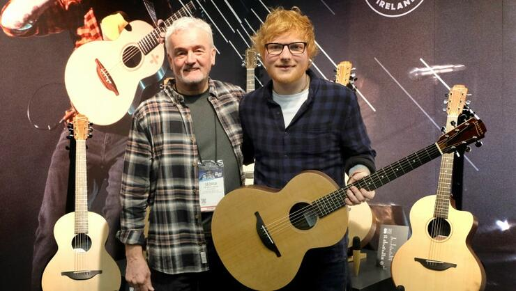 Ed Sheeran To Release Signature Handmade Acoustic Guitars With Lowden