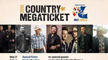None - 2019 Missouri Lottery Country Megaticket