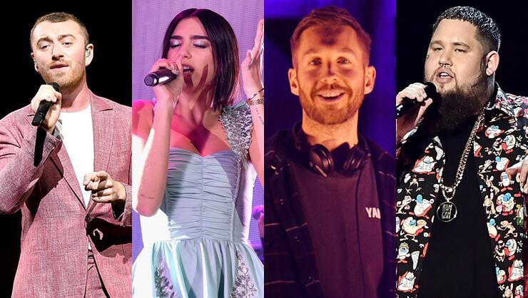 Brits 2019: Sam Smith, Dua Lipa, Calvin Harris & Rag'n'Bone Man To Perform