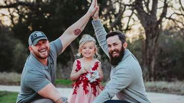 Savannah - Dad & Step-Dad Come Together, Support Little Girl for Father-Daughter Dance